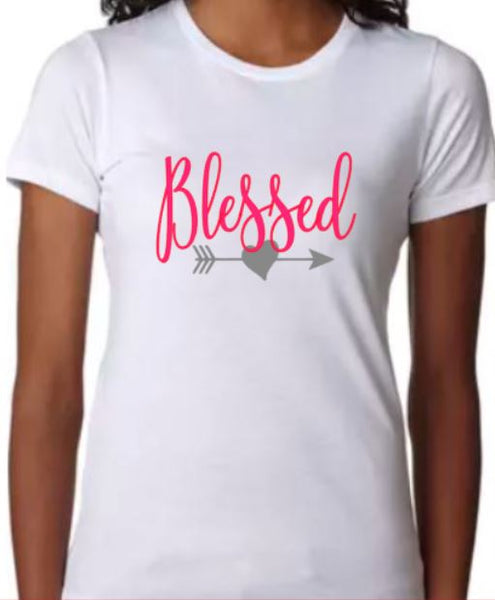 Blessed T-Shirt - Ladies - Plush