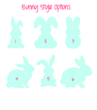 Bunny Cutout for DIY Crafting - Plush