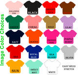 School Name Football T-Shirt - Ladies - Plush
