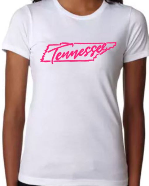 Tennessee T-Shirt - Ladies - Plush