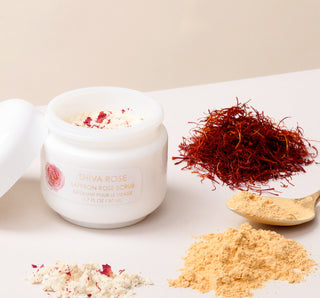 Saffron Rose Facial Scrub