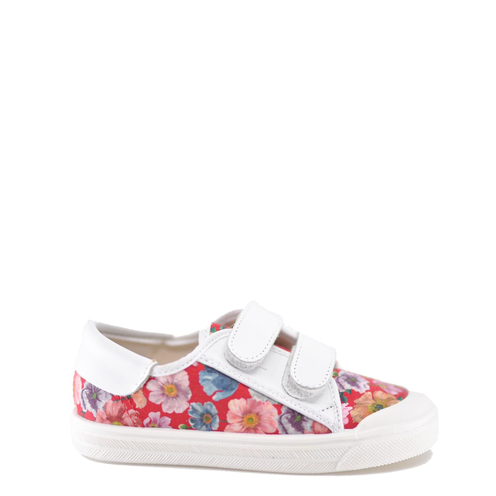 Pepe Floral Velcro Sneaker-Tassel Children Shoes