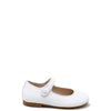 Papanatas White Patent Mary Jane-Tassel Children Shoes