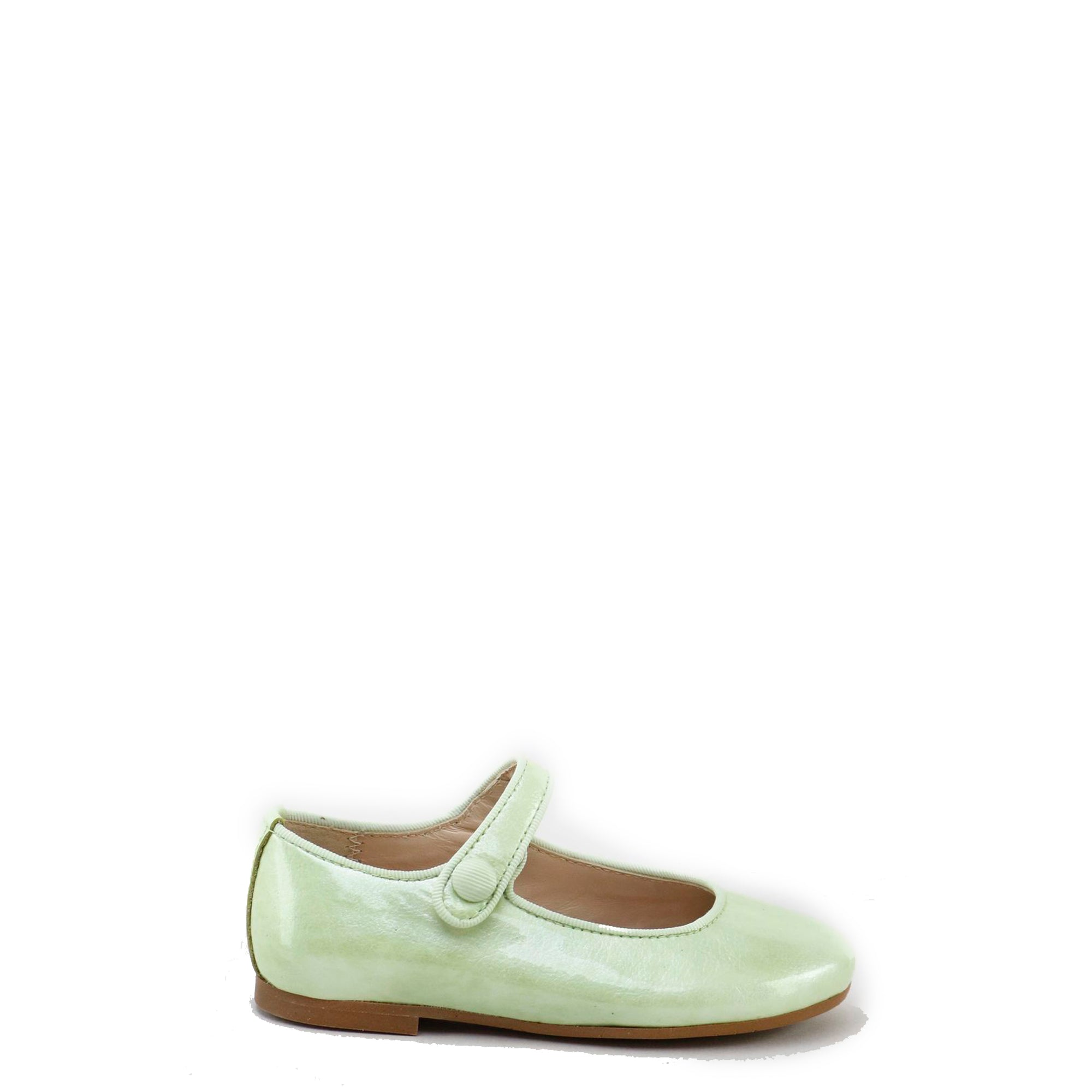 Papanatas Smoky Mint Patent Mary Jane-Tassel Children Shoes