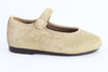 Papanatas Gold Pony Hair Mary Jane-Tassel Children Shoes