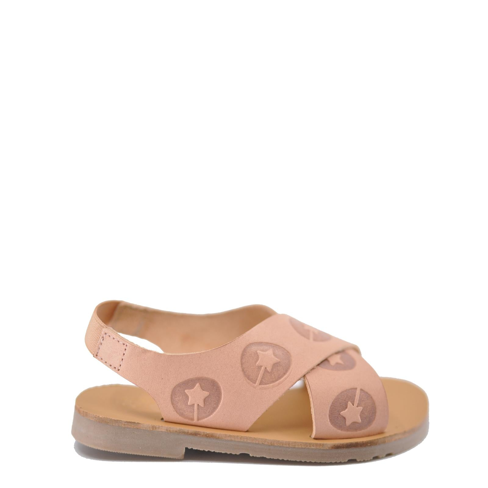 LMDI Logo Criss Cross Sandal-Tassel Children Shoes