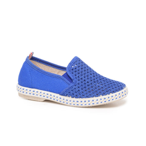Rivieras Blue Slip-on-Tassel Children Shoes