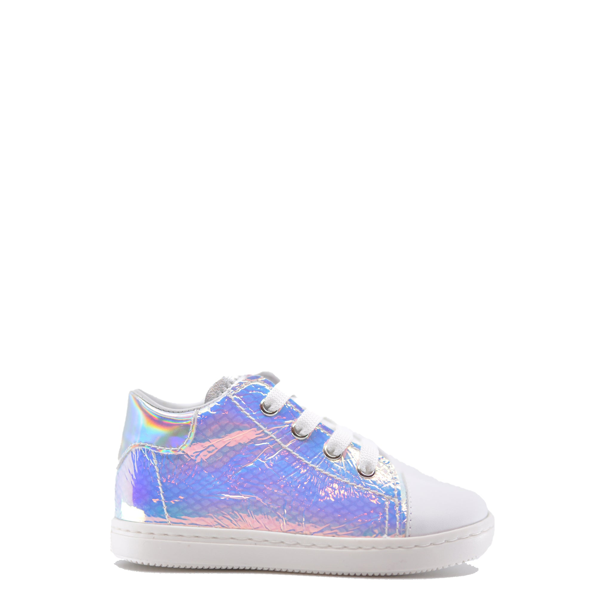 Beberlis Iridescent High Top Sneaker-Tassel Children Shoes