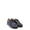 Beberlis Navy Florentic Lace-Up Derby-Tassel Children Shoes