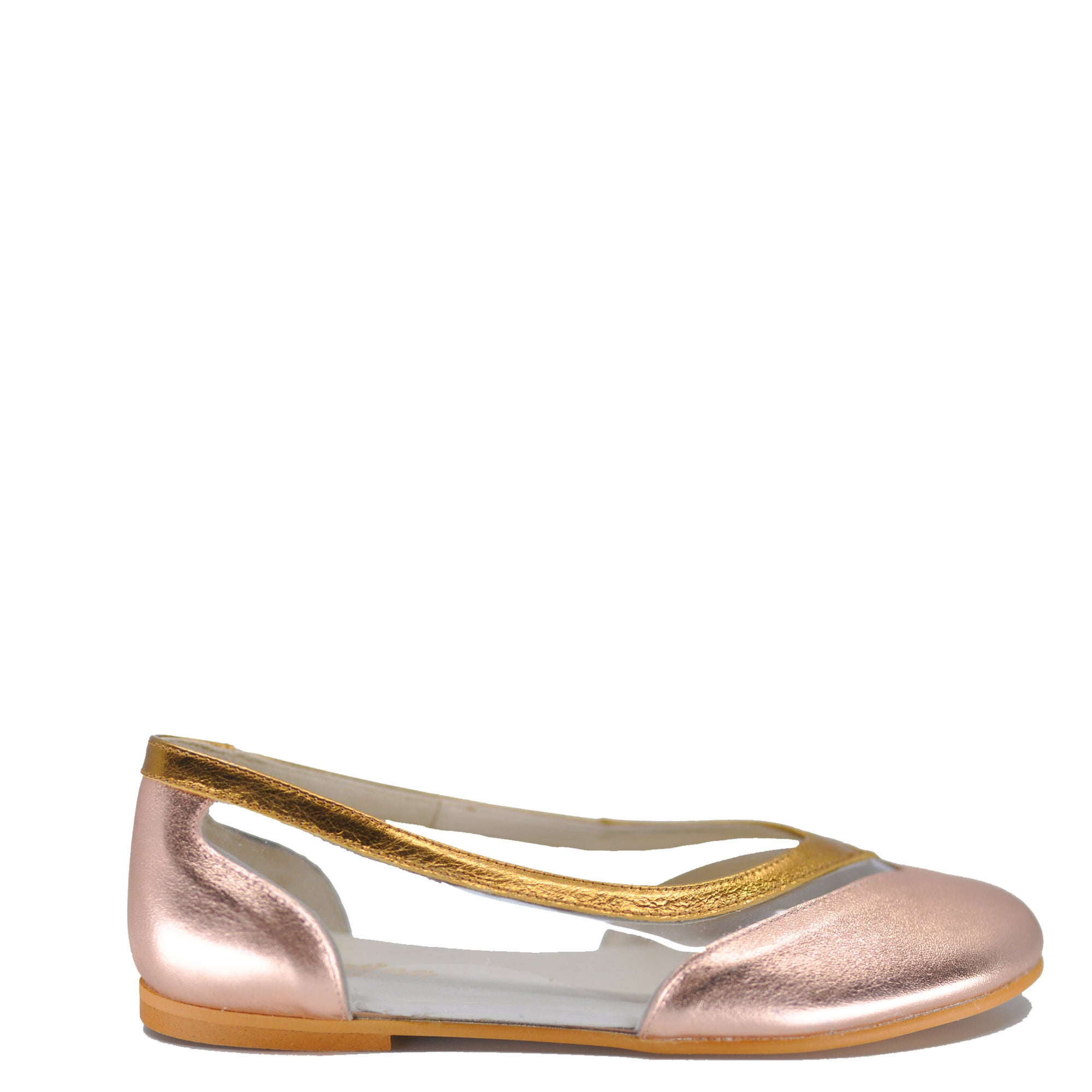 Sonatina Rose Gold PVC Slip On-Tassel Children Shoes
