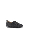 Manuela Grey Tweed Derby-Tassel Children Shoes