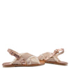 Manuela Rose Gold Fringe Sandal-Tassel Children Shoes
