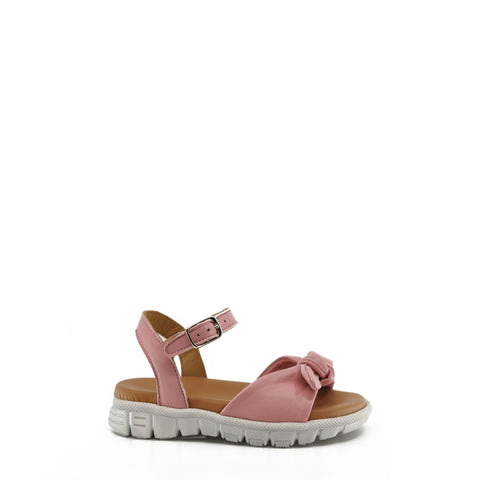 Pepe Pink Bow Sneaker Sandal-Tassel Children Shoes