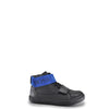 Hugo Boss Black Leather and Royal Blue Sneaker-Tassel Children Shoes
