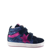 Acebos Marino Glitter Sneaker-Tassel Children Shoes