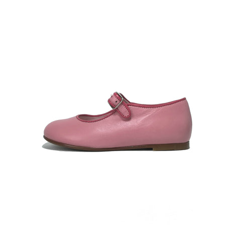 LMDI Collection Pink Leather Mary Jane-Tassel Children Shoes