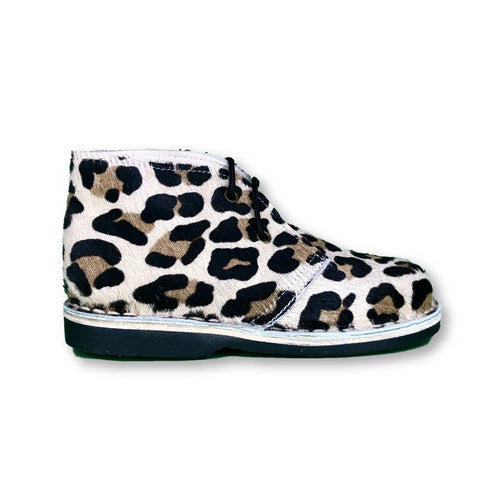 Sonatina Leopard Bootie-Tassel Children Shoes