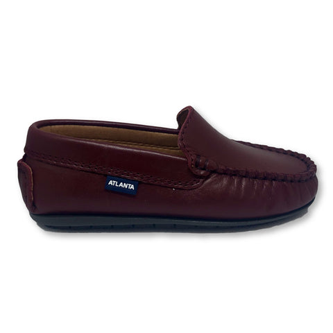 Atlanta Mocassin Burgundy Loafer-Tassel Children Shoes