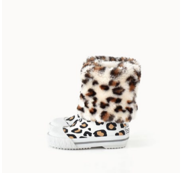Boxbo Leopard Rainboot-Tassel Children Shoes