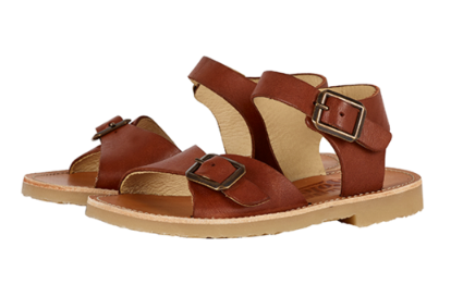 Young Soles Chestnut Sandal-Tassel Children Shoes