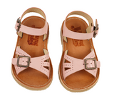 Young Soles Nude Pink Sandal-Tassel Children Shoes