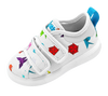 Native Shoes Monaco Canvas Shell White Origami-Tassel Children Shoes