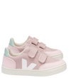 Veja Rose Canvas Velcro Sneaker-Tassel Children Shoes