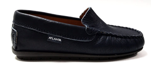 Atlanta Mocassin Navy Loafer-Tassel Children Shoes