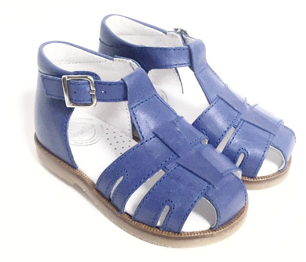 Beberlis Blue sandal-Tassel Children Shoes