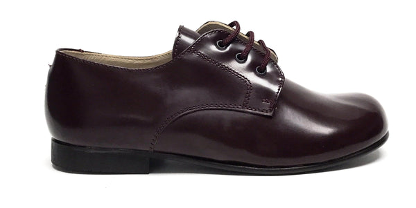 Beberlis Burgundy Florentic Oxford-Tassel Children Shoes