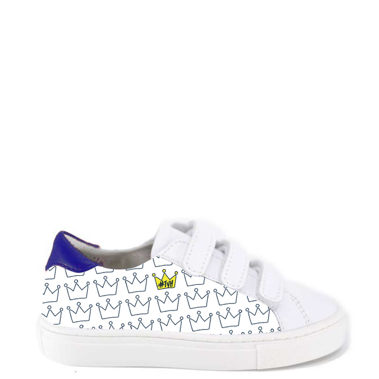TYH x Tassel Crown Velcro Sneaker-Tassel Children Shoes