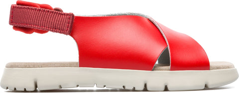 Campers Red Sandal-Tassel Children Shoes