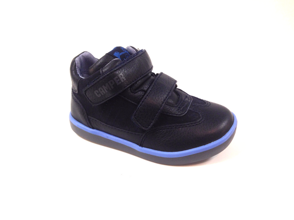 Campers Blue Velcro Bootie-Tassel Children Shoes