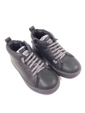 Campers Gray Side Zipper Boot-Tassel Children Shoes