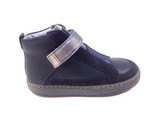 Campers Navy Velcro Boot-Tassel Children Shoes