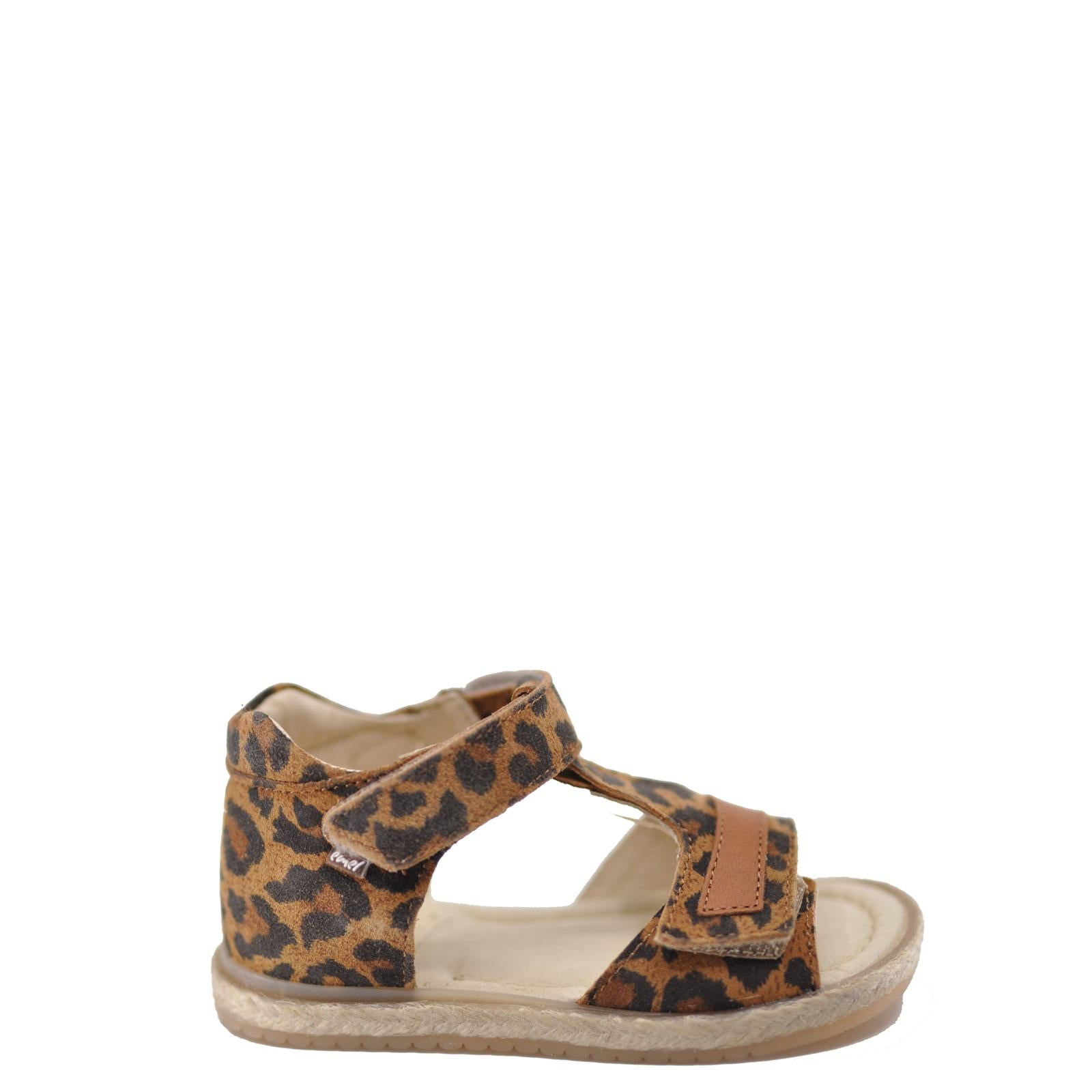 Emel Luggage Cheeta Velcro Sandal-Tassel Children Shoes