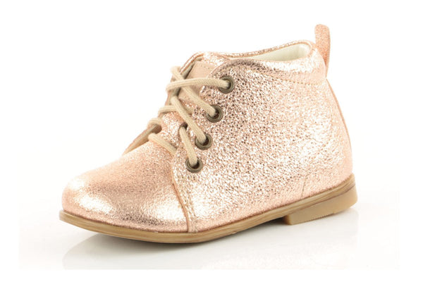 Emel Rose Gold Bootie-Tassel Children Shoes
