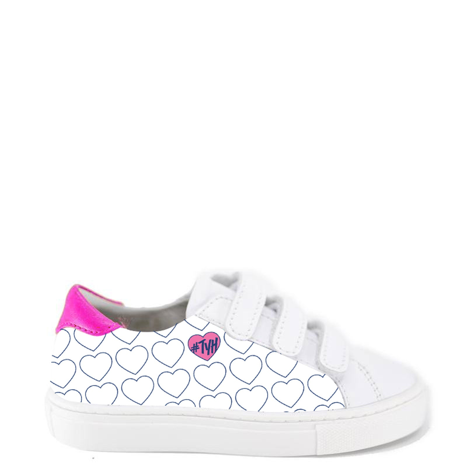 TYH x Tassel Heart Velcro Sneaker-Tassel Children Shoes