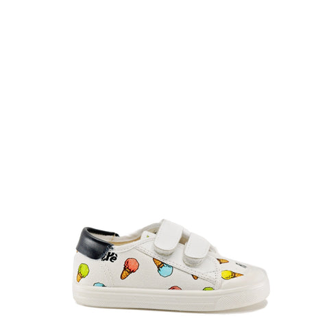 Pepe Ice Cream Velcro Sneaker-Tassel Children Shoes