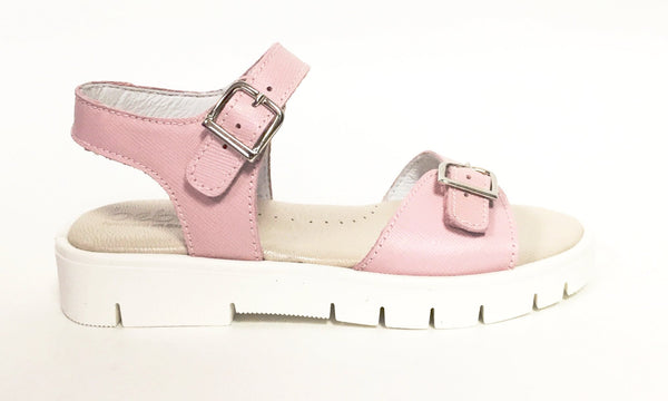 Beberlis Pink Open Toe Sandal-Tassel Children Shoes