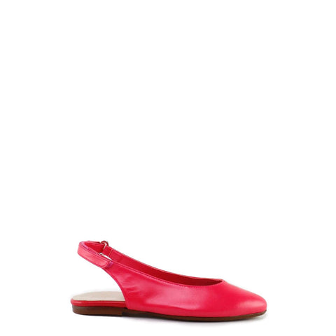 Papanatas Strawberry Leather Velcro Slingback-Tassel Children Shoes