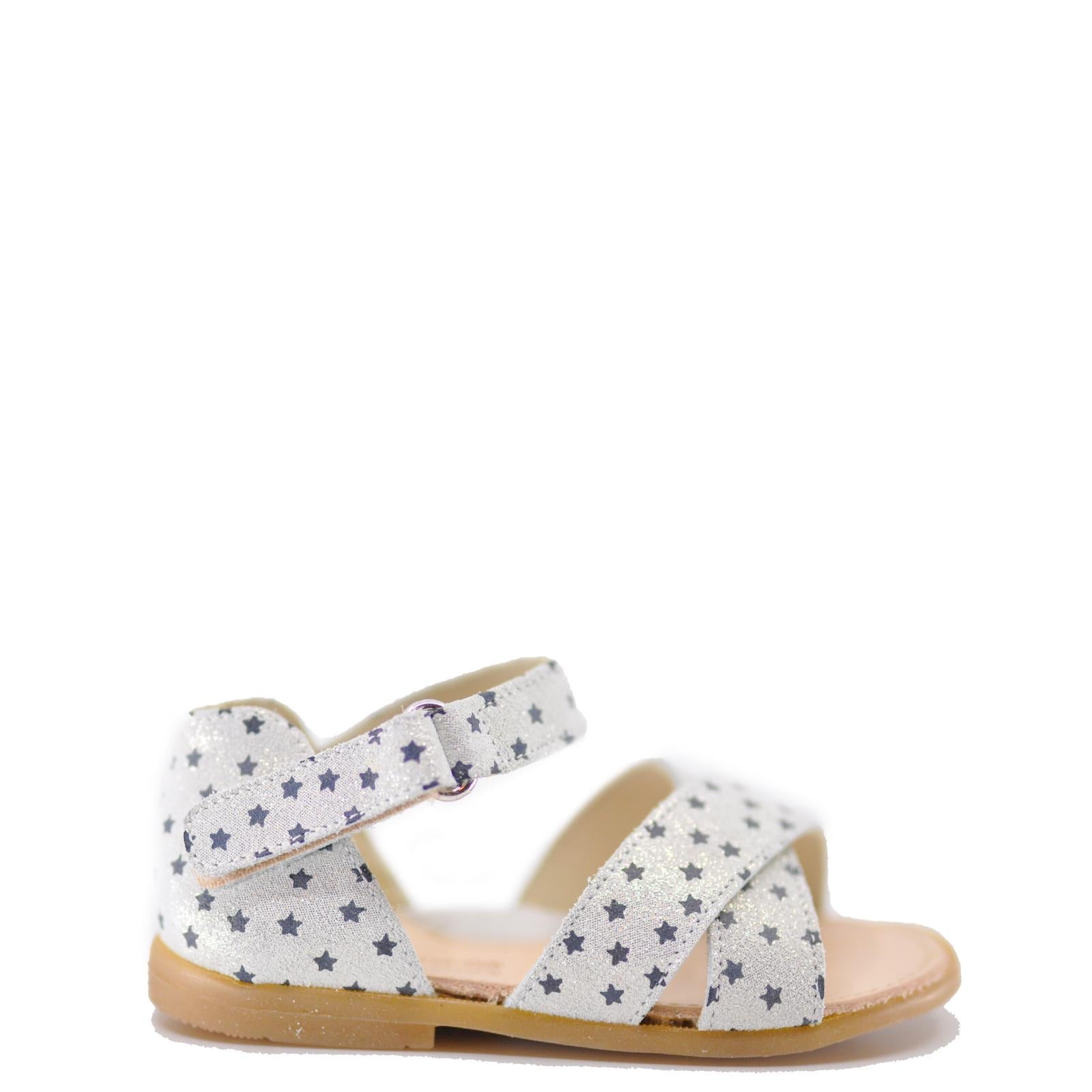 Pepe White Star Baby Sandal-Tassel Children Shoes