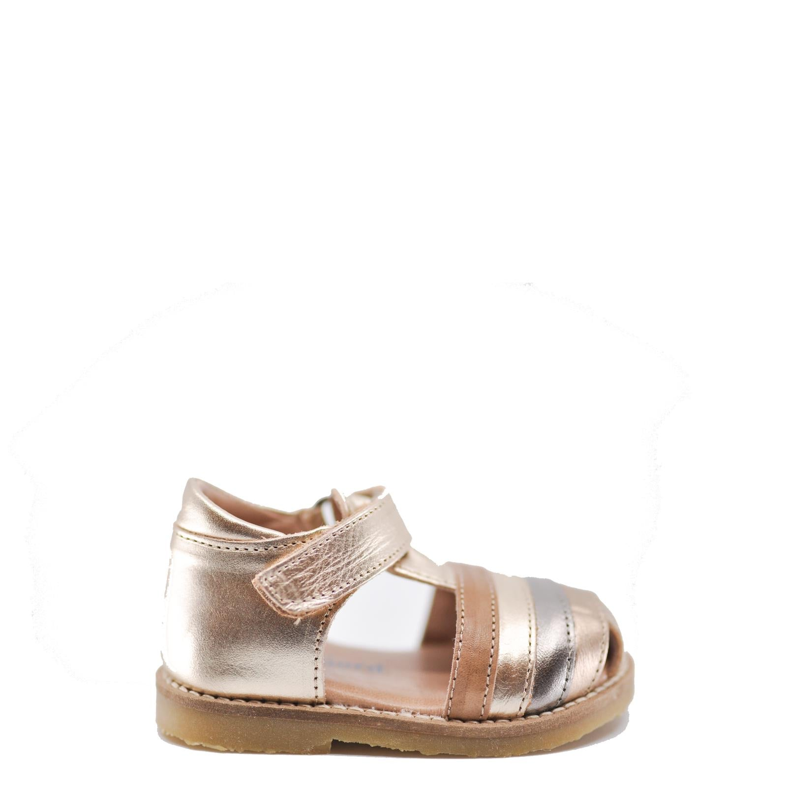 Petit Nord Gold Baby Sandal-Tassel Children Shoes