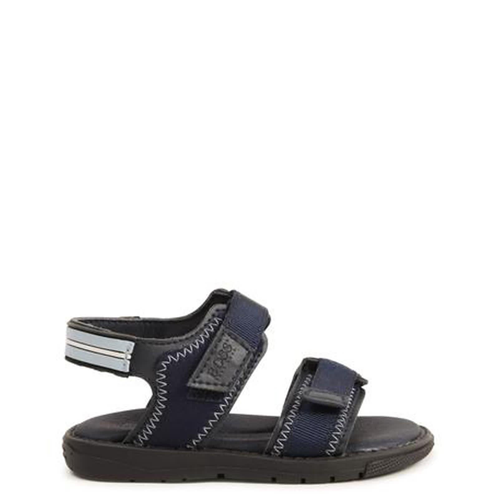 Hugo Boss Royal Blue Sandal-Tassel Children Shoes