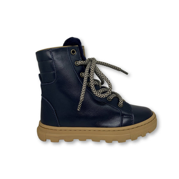 Pepe Navy Boot with Fur-Tassel Children Shoes