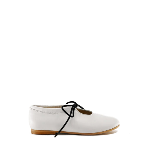 Blublonc White Leather Dress Shoe-Tassel Children Shoes