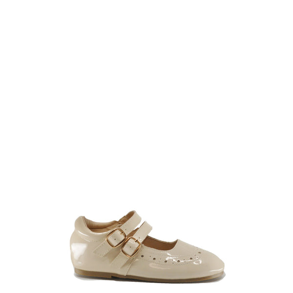 Anchor & Fox Cream Seville Mary Jane-Tassel Children Shoes
