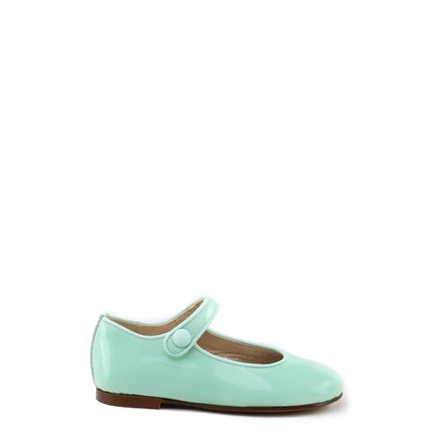 Papanatas Mint Patent Mary Jane-Tassel Children Shoes