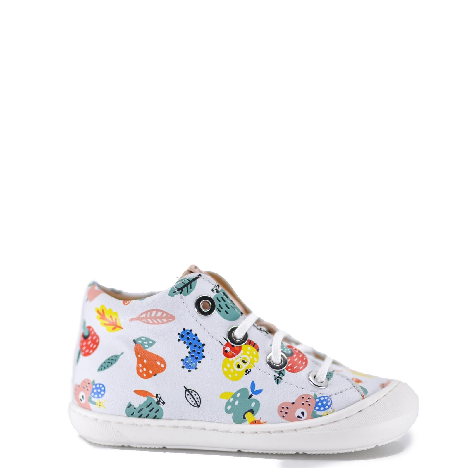 MAA Fruit Print Baby Sneaker-Tassel Children Shoes