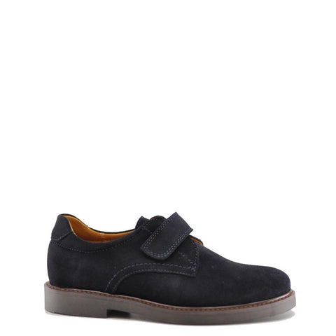 Beberlis Navy Suede Velcro Dress Shoe-Tassel Children Shoes